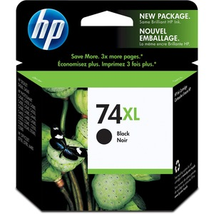 HP Inkjet Cartridge High Yield CB336WN #74XL Black