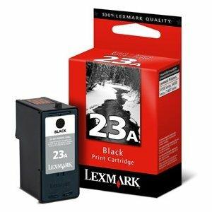 Lexmark #23A Black Ink Cartridge