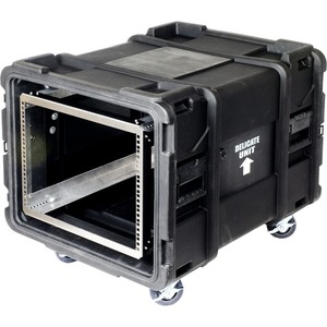 6u Rack Shock Transportable Rack Case 29in Depth / Mfr. No.: Rack-Transport-30-6