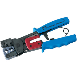 Ideal Ratchet Crimp Tool For Modular Plugs / Mfr. No.: 30-696