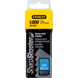 "Stanley® Bostitch® SharpShooter® Heavy Duty Staples 3/8"" 1,000/box"