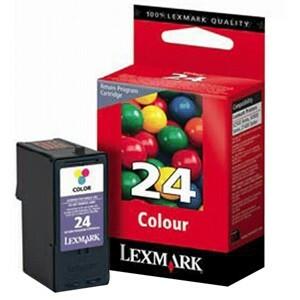 Encre Lexmark Couleur N°24 - LRP - 18C1524E