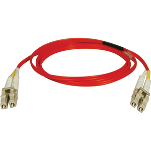 1m Duplex Fiber Multimode Lc/Lc 62.5/125 Patch Cable Red / Mfr. No.: N320-01m-Rd
