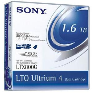 Cartouche Sony LTO4 Ultrium 800/1600GB Rew - LTX800GN
