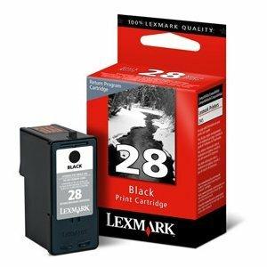 Lexmark® Inkjet Cartridge #28 Black