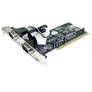 B&B 2 Port RS-232 Serial PCI Board