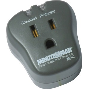 Single Outlet Surge Protector 15a 120v 1800 Watts 540 Joules / Mfr. No.: Mms110