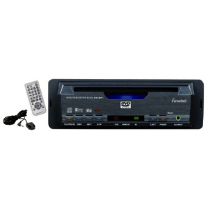 Farenheit DVD-36 Single Din In-DASH DVD Player w/ SD & USB Readers