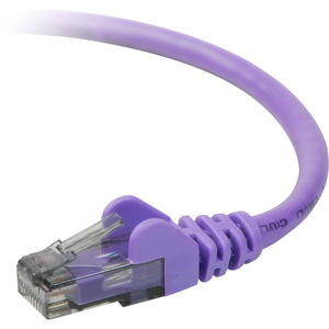 3ft Cat6 Purple Snagless Patch Cable Rj45m M/M / Mfr. No.: A3l980-03-Pur-S