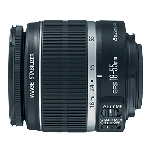 Canon Ef-S 18-55mm Lens / Mfr. No.: 2042b002