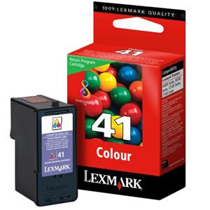 Encre Lexmark Couleur N°41 - LRP - 18Y0141E
