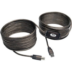 36ft USB2.0 A-B Hi-Speed Active Cable / Mfr. No.: U042-036