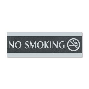 Sign No Smoking 3x9 English
