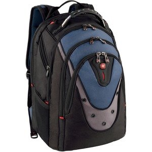 Swissgear Ibex Backpack Black/Blue Fits Up To 17in Lapt / Mfr. No.: Ga-7316-06f00