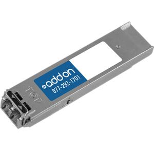 AddOn MSA Compliant 10GBase-SR XFP Transceiver (MMF, 850nm, 300m, LC)