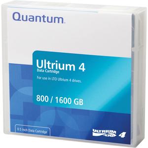 Cartouche LTO4 Quantum 800GB/1,6 TB Couleur Vert - MR-L4MQN-01