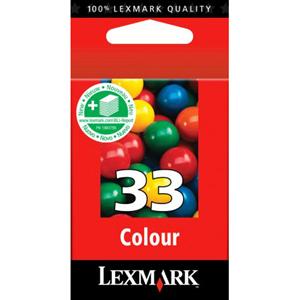 Encre Lexmark Couleur N°33 - 18CX033E