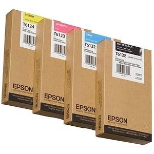 Encre Epson Pigment Cyan pour Stylus Pro 7400/7450 - T611200