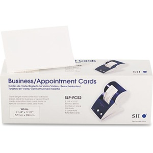 Business / Appointment Card 2-1/4in X 3-1/2in 600 Cards To / Mfr. No.: Slp-Fcs2
