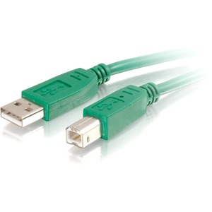2m A/B M/M USB 2.0 Green Cable / Mfr. No.: 35667