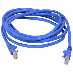 18ft Cat6 Blue UTP Snagless RJ45 M/M Patch Cable / Mfr. No.: A3l980-18-Blu-S