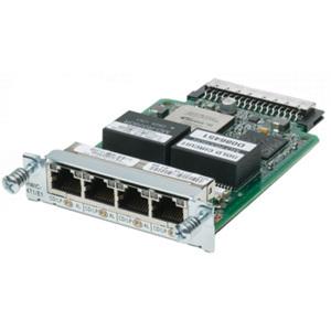 Cisco 4-Port Clear Channel T1/E1 HWIC