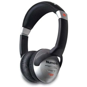 Closed-Backed Headphones 40mm Speakers 6cord 1/8inand1/4in Adap / Mfr. No.: Hf125
