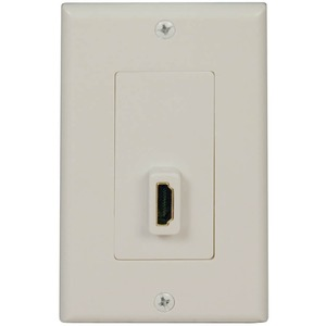 Home Theater HDMI Send/Receive Pass-Through Wallplate / Mfr. No.: P166-001-P