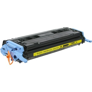 Yellow Toner Cartridge With Smart Chip For Hp Laserjet Q600 / Mfr. No.: V72600y