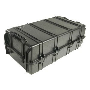 1780 Transport Case Black W/Foam W/Wheels 42x22x15.1 Pick N Pluc / Mfr. No.: 1780-000-110