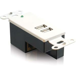 2port USB Superbooster Wallplate Receiver / Mfr. no.: 29345