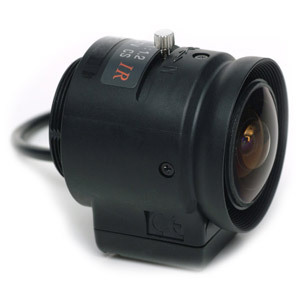 1/3in Cs-Mount 2.2mm F=1.2 Wide-Angle Lens / Mfr. No.: Pla22t3dn