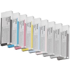 Encre Epson Pigment Cyan Clair pour Stylus Pro 4800/4880 - 110 ml - T605500