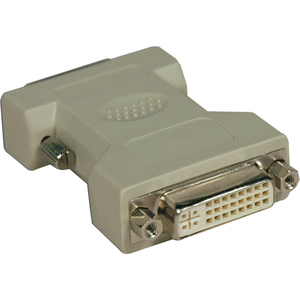 DVI-D Male To DVI-I Female Adapter