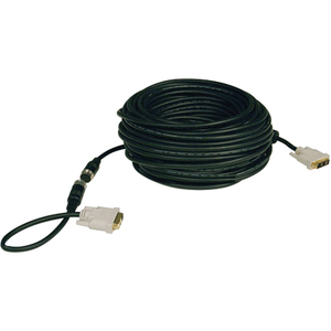 100ft Easy Pull DVI-D Sngl Link Monitor Cable W/ Connectors