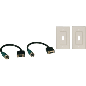 Easy Pull Type-A Kit W/ Hd15f/F and 2 Wallplates