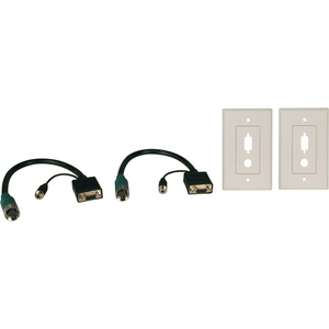 Easy Pull Type-A Kit W/Hd15f/F and 3.5mmf/F and 2 Wallplates