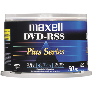 Maxell Plus SS 8x DVD-R Media