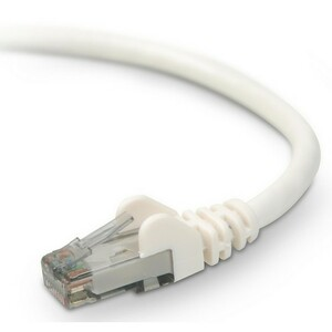 1ft Cat6 White UTP Snagless RJ45 M/M Patch Cable / Mfr. No.: A3l980-01-Wht-S