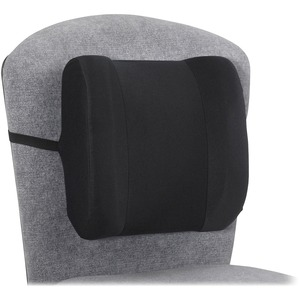Safco® Remedease® High Profile Backrest Black