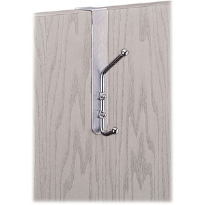 Safco® Over-The-Door Coat Hook Chrome