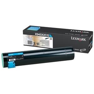 Toner Lexmark Cyan pour X940E/X945E - X945X2CG