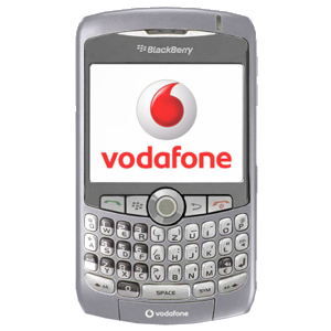 vodafone BlackBerry Curve 8310 Smart Phone