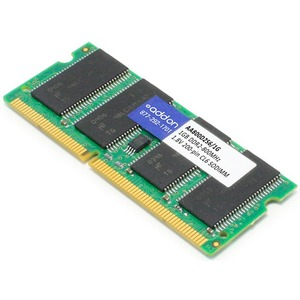 AddOn - Memory Upgrades 1GB DDR2-800MHz/PC2-6400 200-pin SODIMM F/LAPTOPS