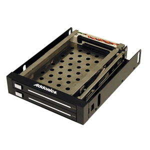 Dual Snap-In Mobile Rack For 2.5in SATA HDD / Mfr. No.: Ae25snap2sa