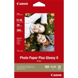 Canon Photo Paper Plus II PP-201 - Papier photo brillant - 100 x 150 mm - 260 g/m2 - 50 feuille(s) - 2311B003