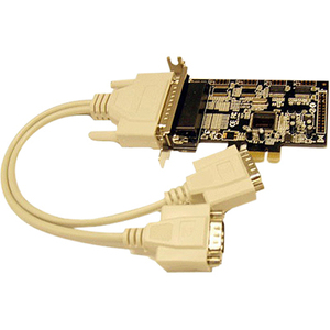 B&B PCIE BOARD, 2 PORT SERIAL , DB 9