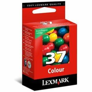Encre Lexmark Couleur N°37 - LRP pour Z2420, X3650/4630/6675/4650/5650/6650 - 18C2140E