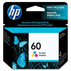 HP Inkjet Cartridge CC643WN #60 Tricolour
