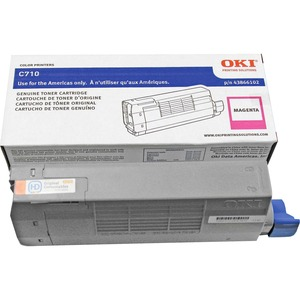 Magenta Toner Ctrg For C710 Series 11.5k Yield Iso Test Sta / Mfr. No.: 43866102